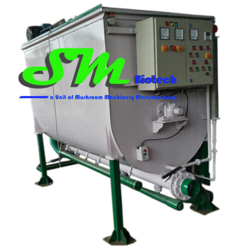 Straw Pasteurization Machine