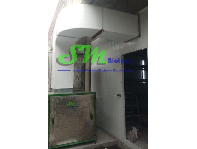3Mushroom Growing Room Outdoor & Duct