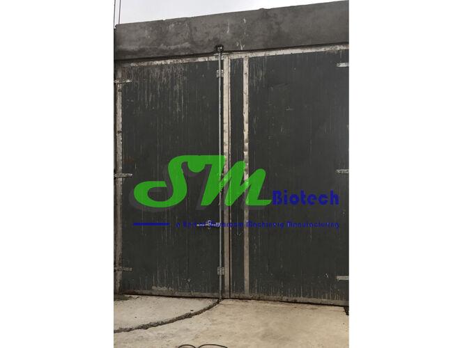 Compost Tunnel Insulated Door