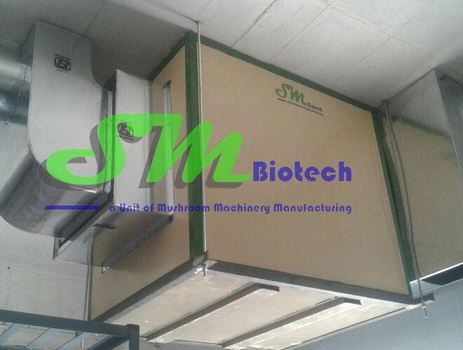 Growing Room Air Handling Unit Inside View